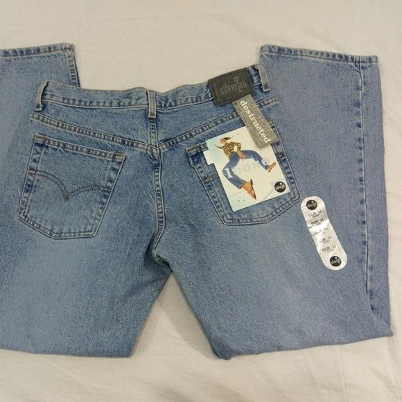 Levi's Denim - New Vintage 90s Levis SilverTab Loose Jeans 11S